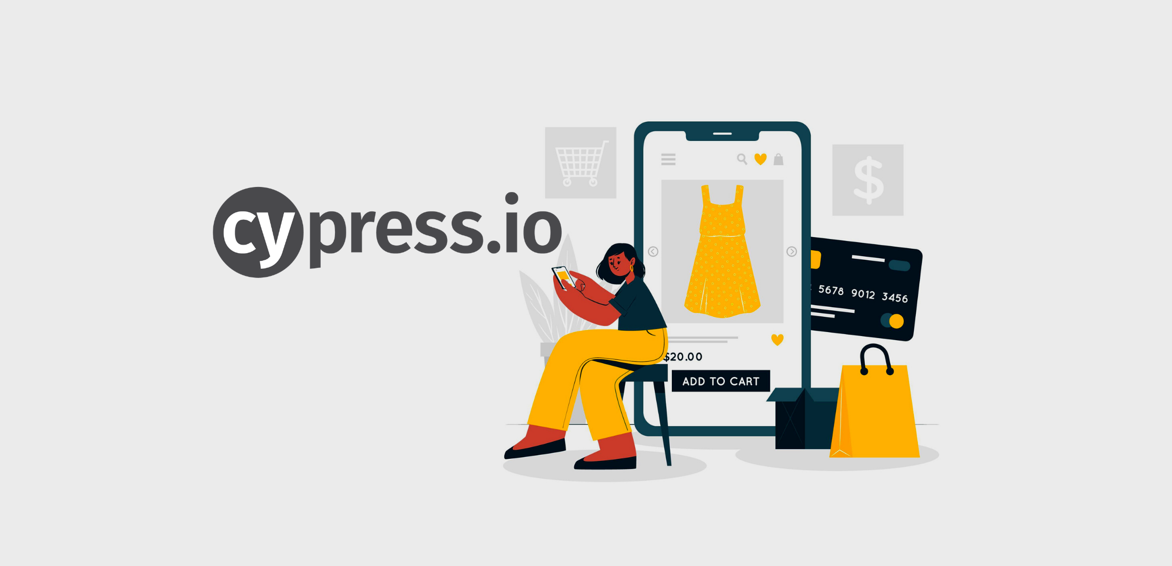 Cypress Automation for e-commerce site