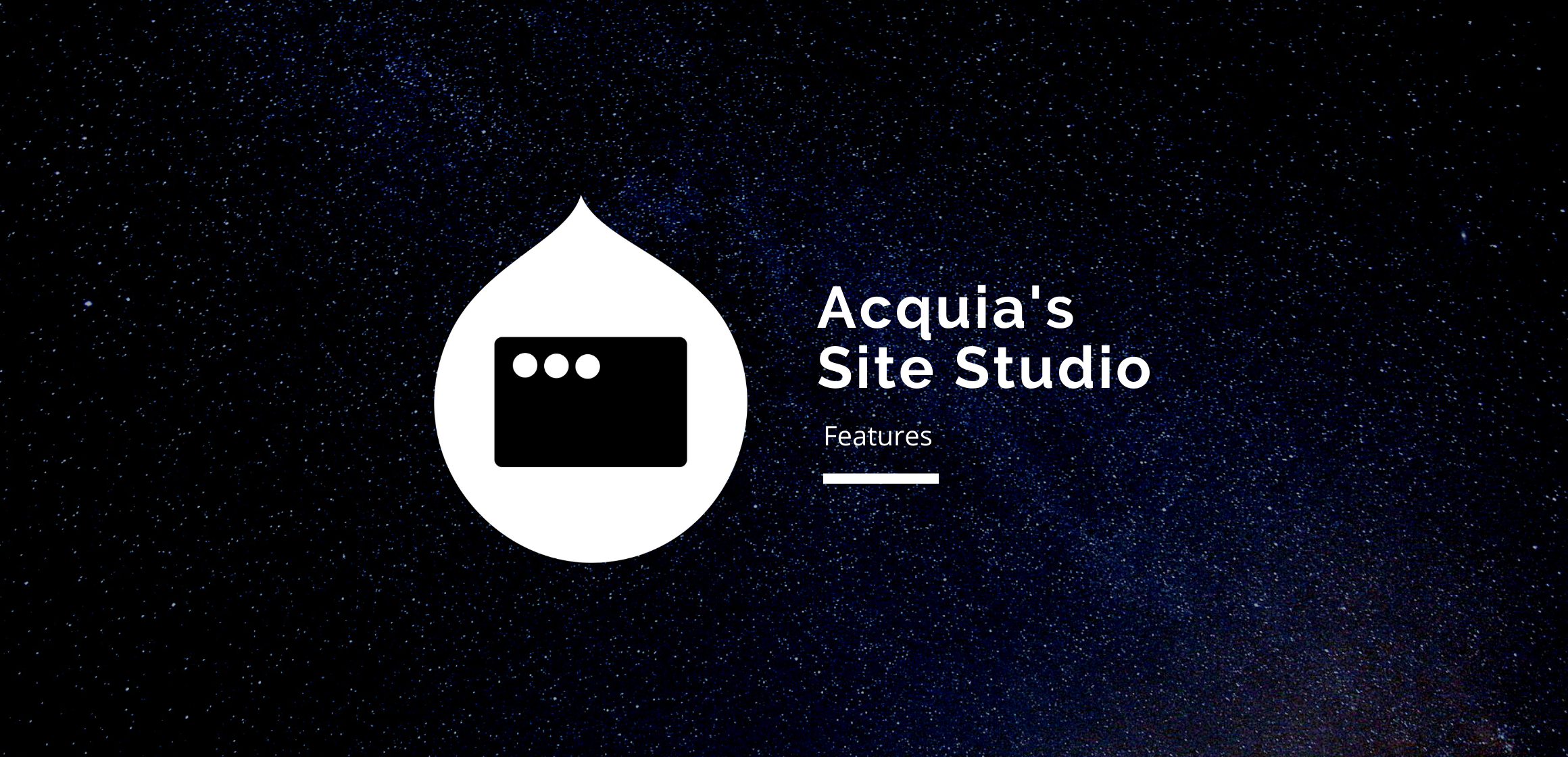 Acquia Site Studio