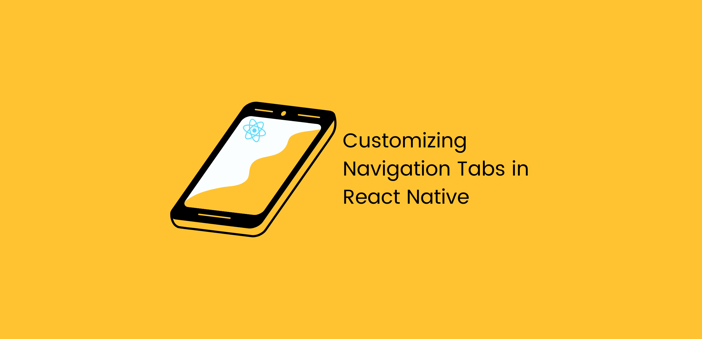 React Native custom navigation tabs