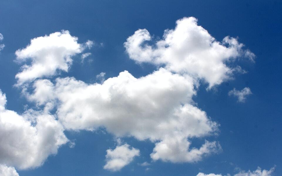 Picture of a cloud.