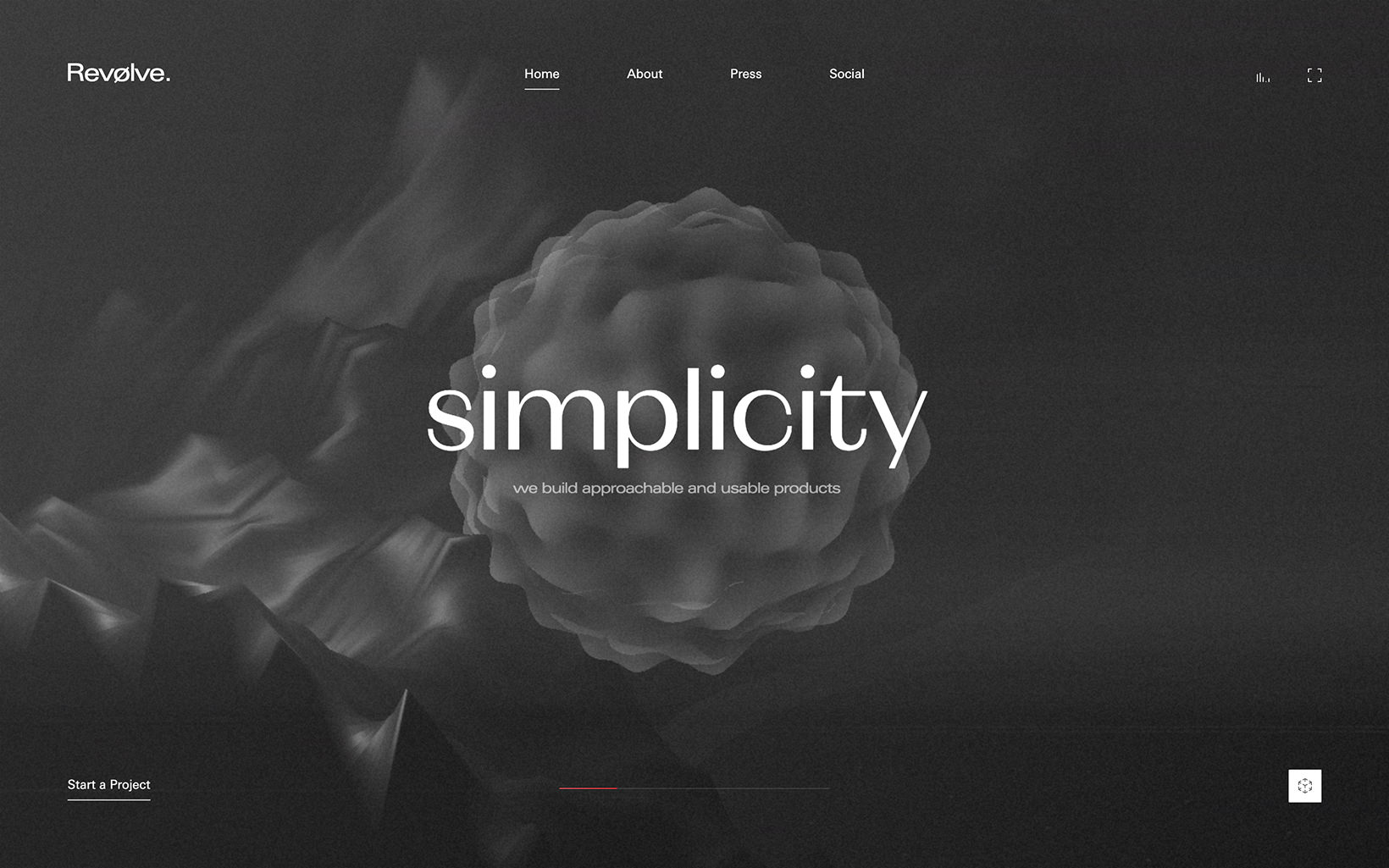 For example using black and white colors make a websites and apps appear classic and simple.