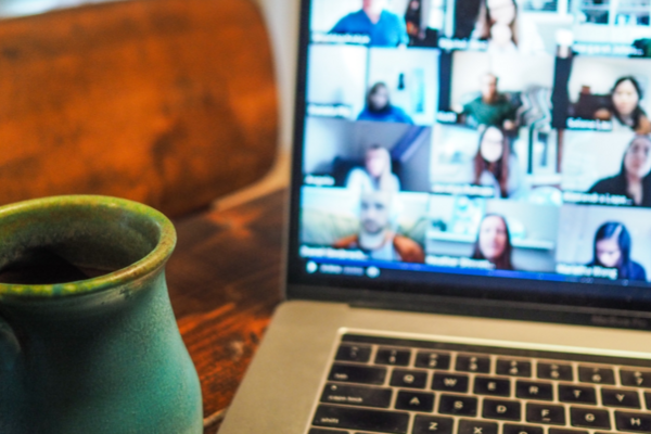 Cover image of people having an online meeting